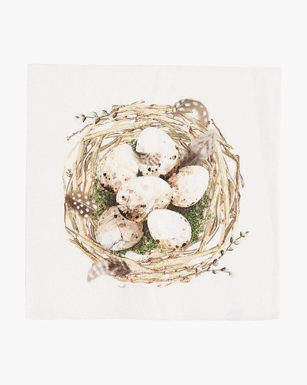Paperiservetit, Eggs