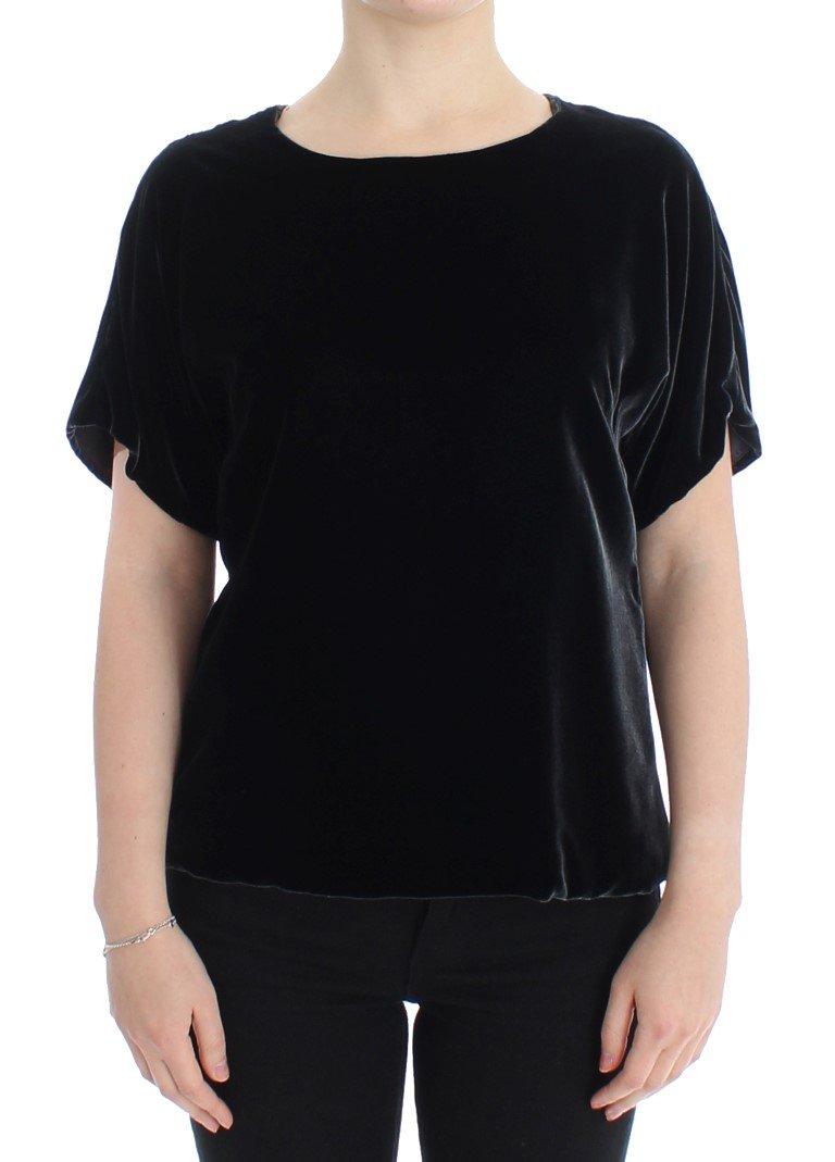 Dolce & Gabbana Women's SS Top Black SIG13218 - IT38 XS