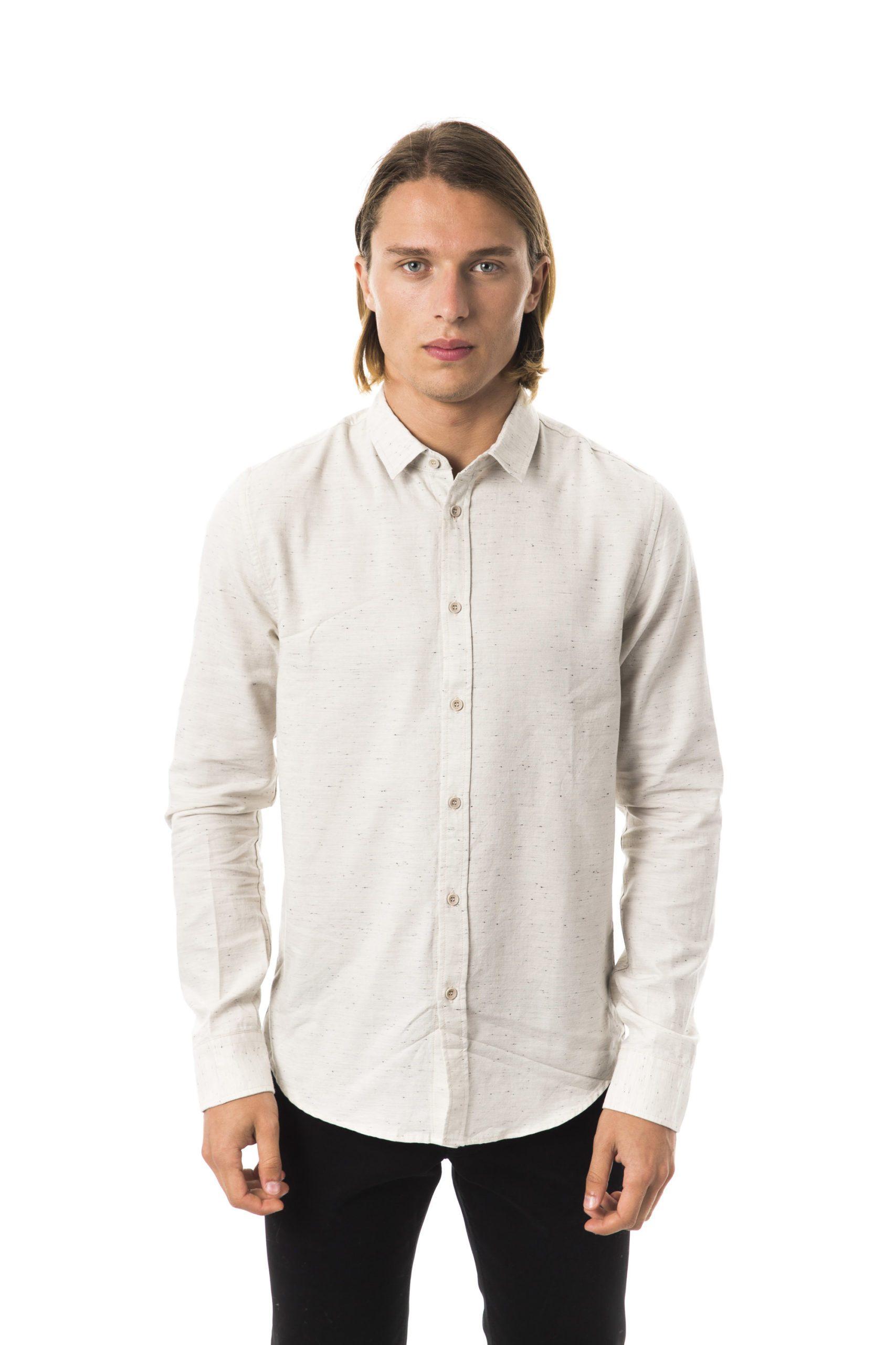 BYBLOS Men's Sandbis Shirt Beige BY1394834 - S