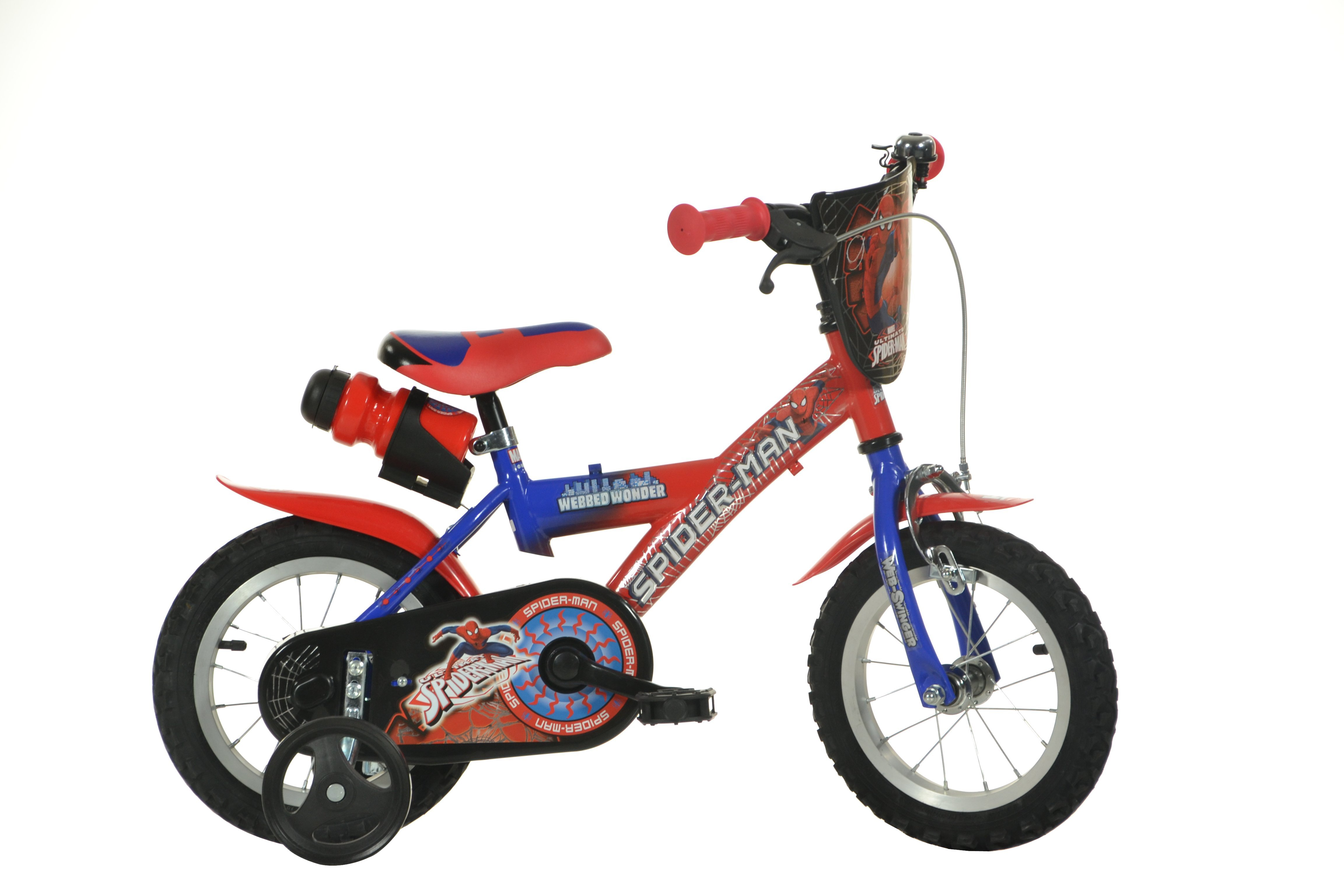 Dino Bikes - Children Bike 12'' - Spiderman (123GSK-SAT)