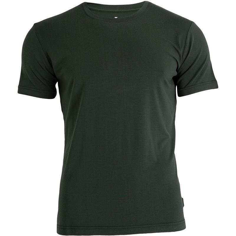 Tufte Crew Neck t-shirt XXL Deep Forest Melange - Herre