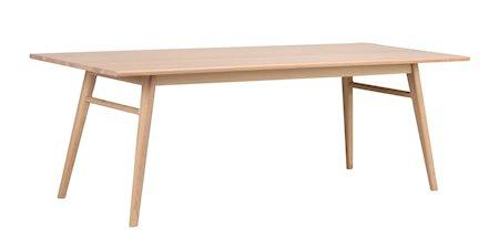 Nevis Spisebord Hvitpigmentert Eik 220 cm