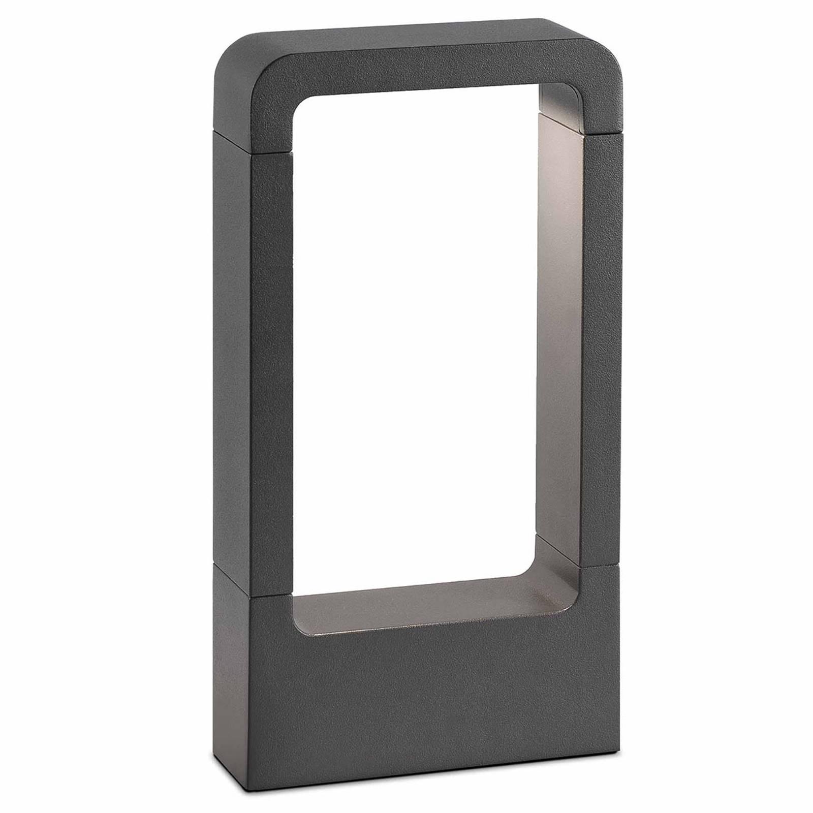Das - pelkistetty LED-pollarivalaisin alumiinia