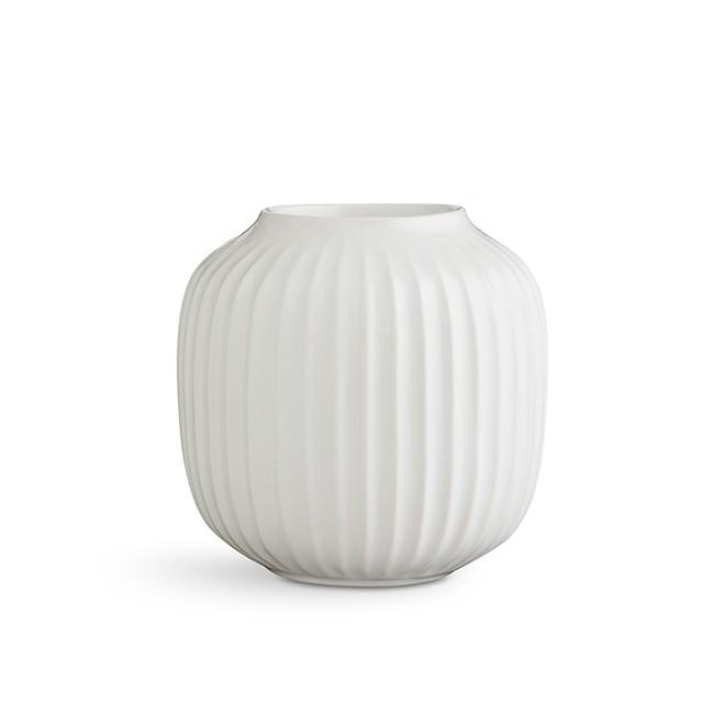Kähler - Hammershøi Tea Light Holder Large - White (692354)