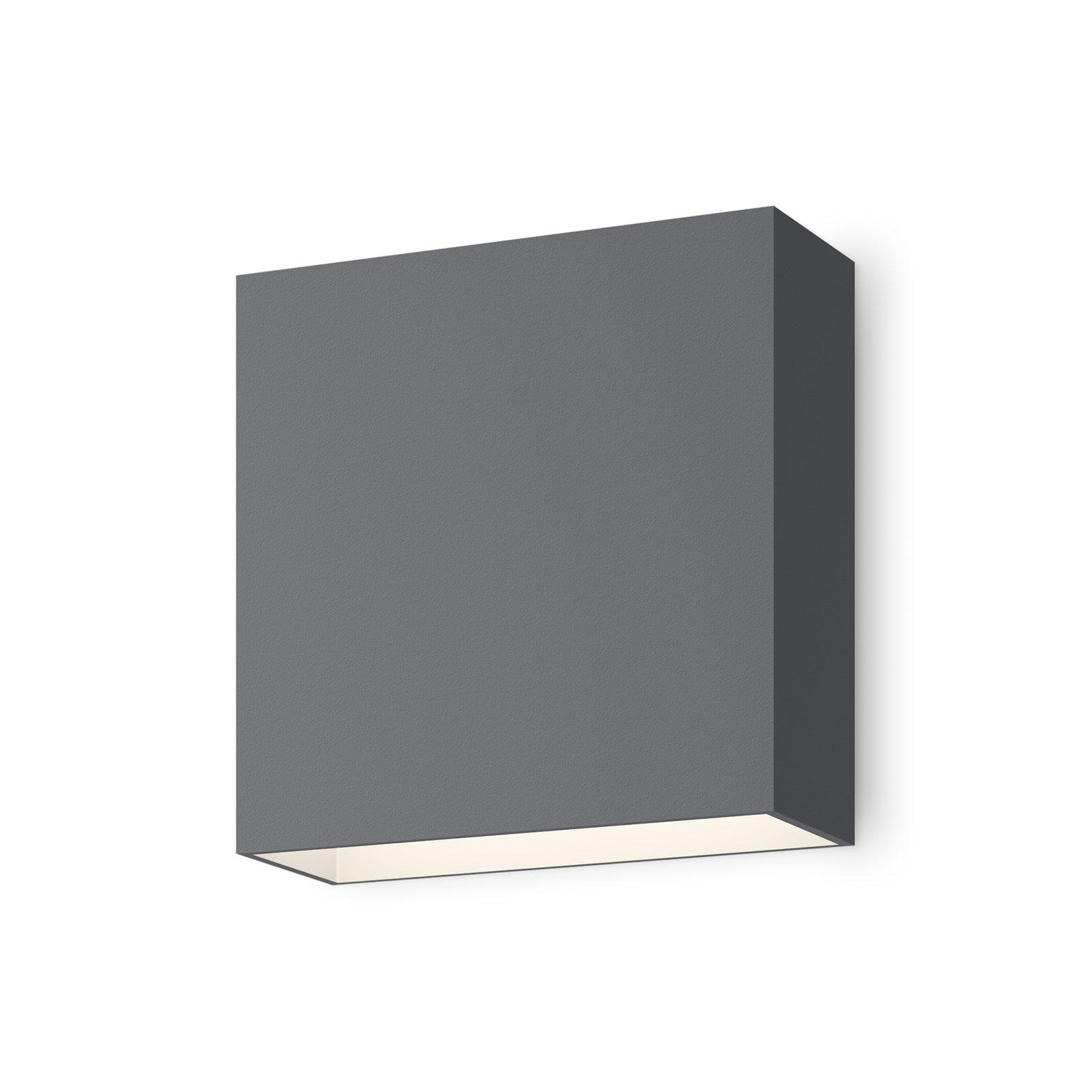 Vibia Structural 2600 LED-seinävalo tummanharmaa