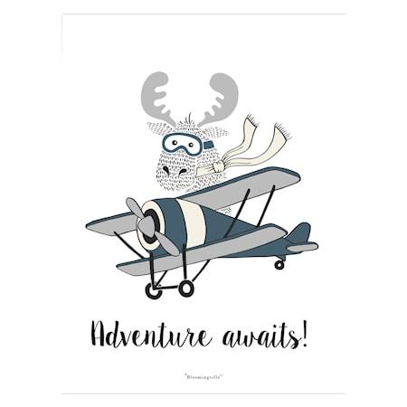 Affisch Adventure