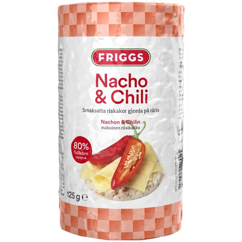 Riisikakut Nacho Chili - 27% alennus
