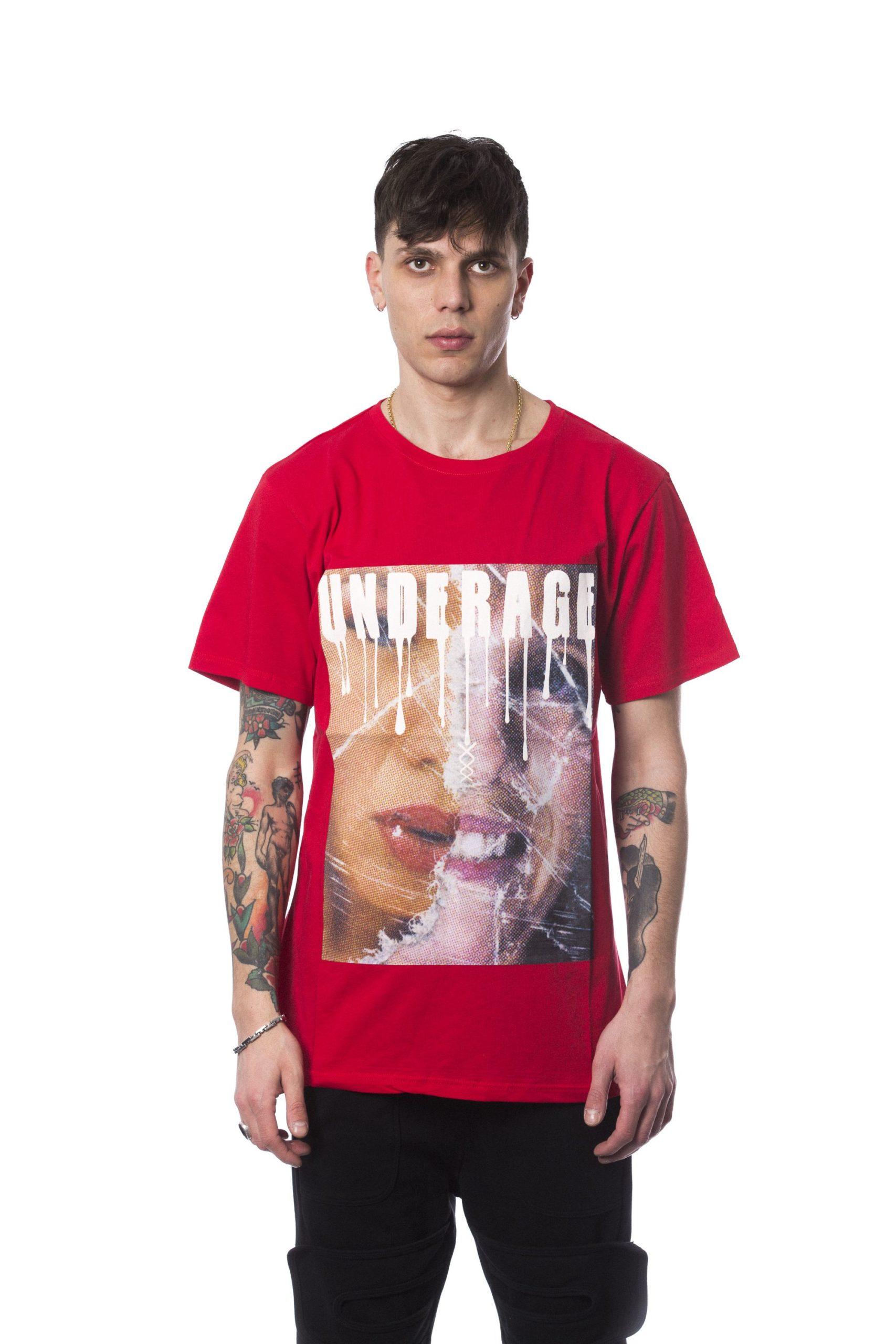 Nicolo Tonetto Men's Rosso T-Shirt Red NI678939 - M