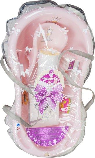Maltex Badebalje Gavesett Sebra, Light Pink