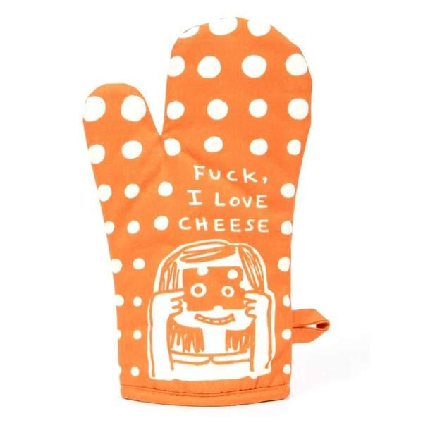 Fuck, I Love Cheese Oven Mitt