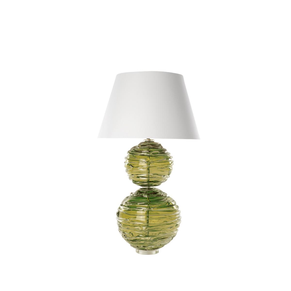 William Yeoward   Alfie Table Lamp Moss