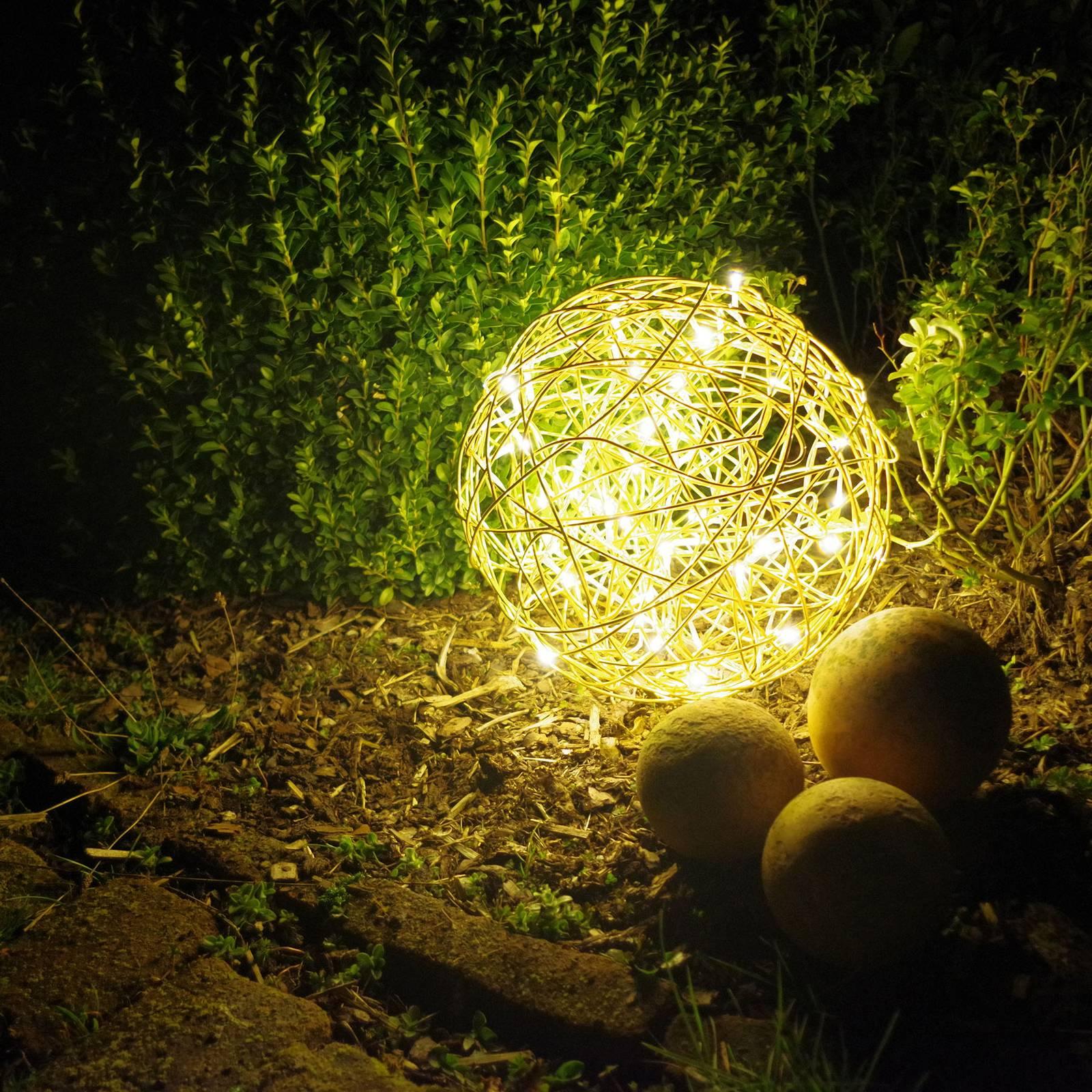Galax-LED-koristevalopallo, kulta, Ø 37,5 cm