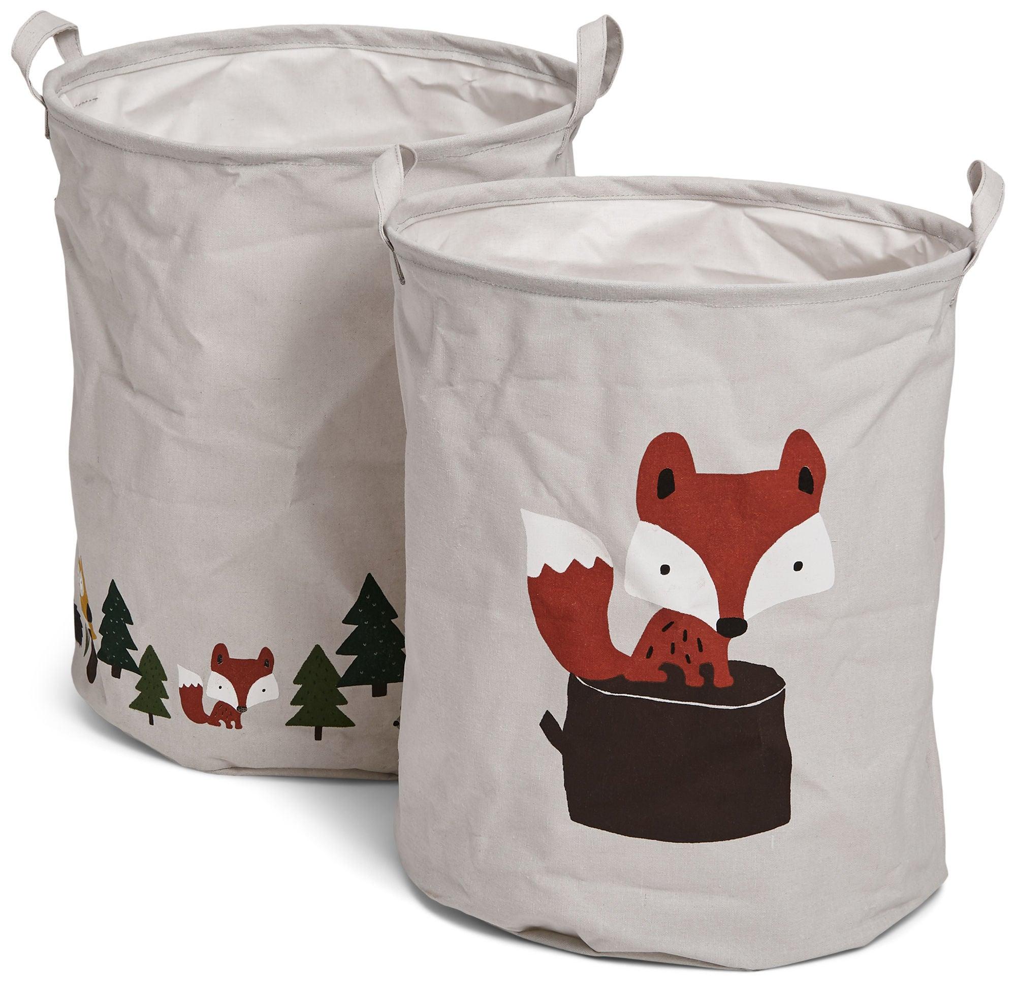 Alice & Fox Säilytyskorit 2-pack, Forest Adventure