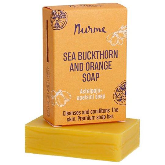 Nurme Sea Buckthorn & Orange Soap, 100 g