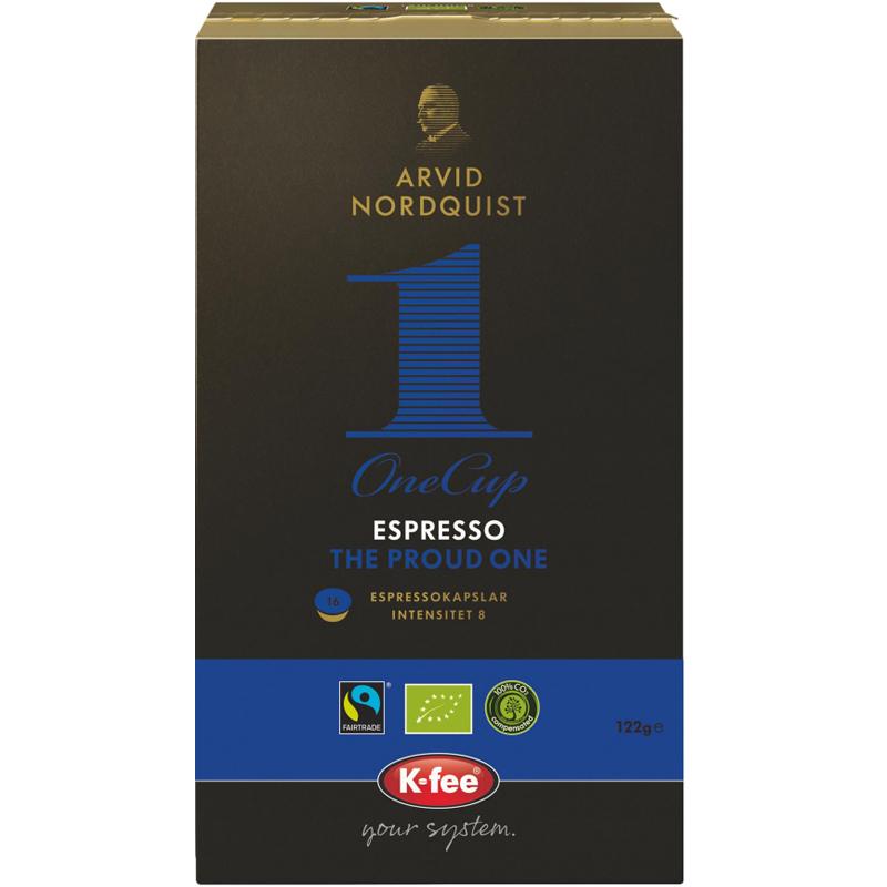 "Eko Kaffekapslar ""The Proud One"" 16-pack - 15% rabatt"