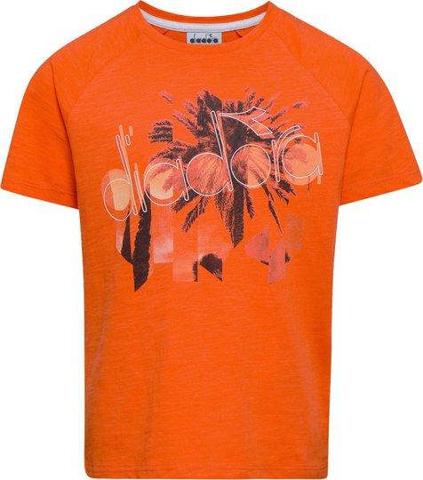 Diadora T-Shirt, Red Medlar S
