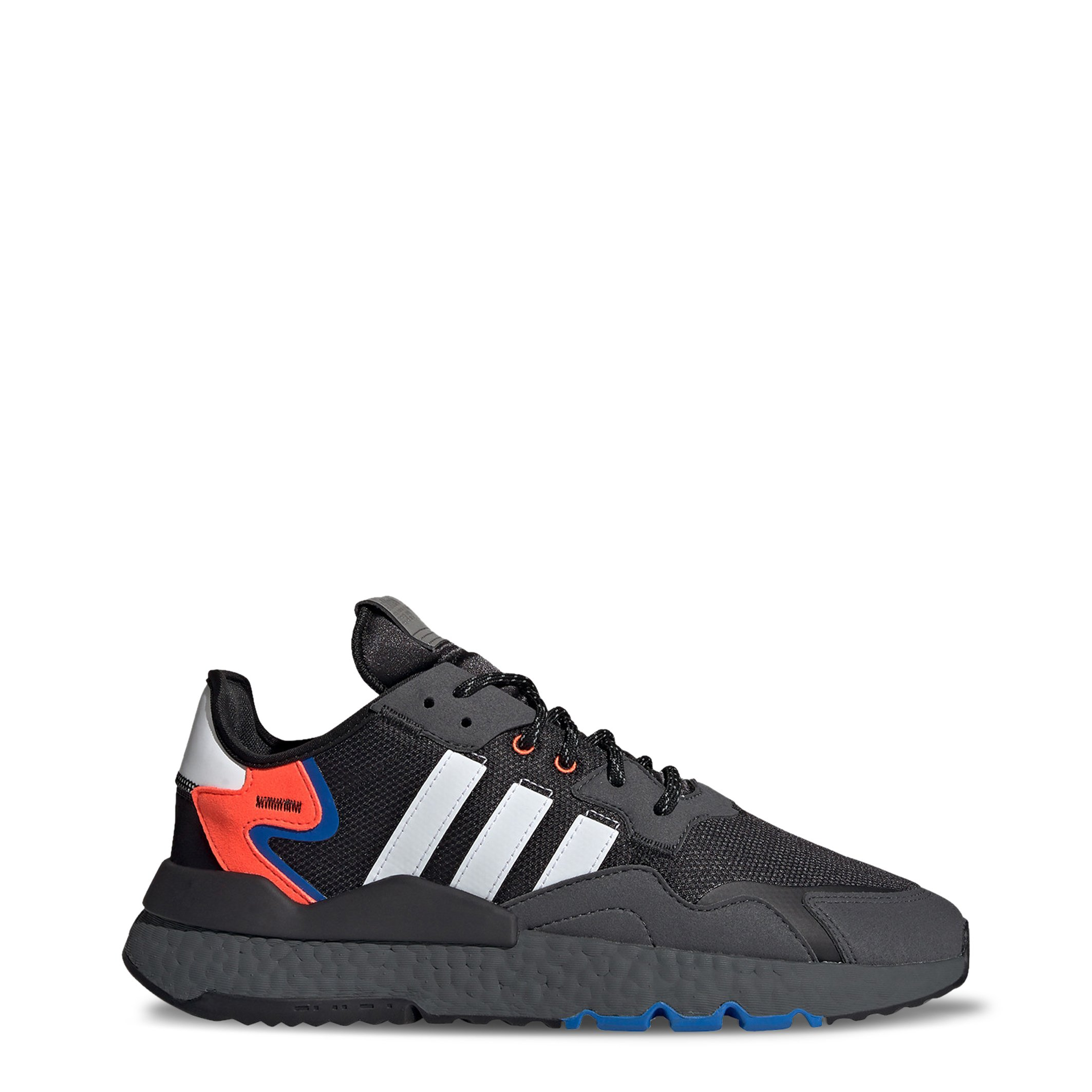 Adidas Men's Nite Jogger Trainers Various Colours EE6254 - black-1 UK 9.0