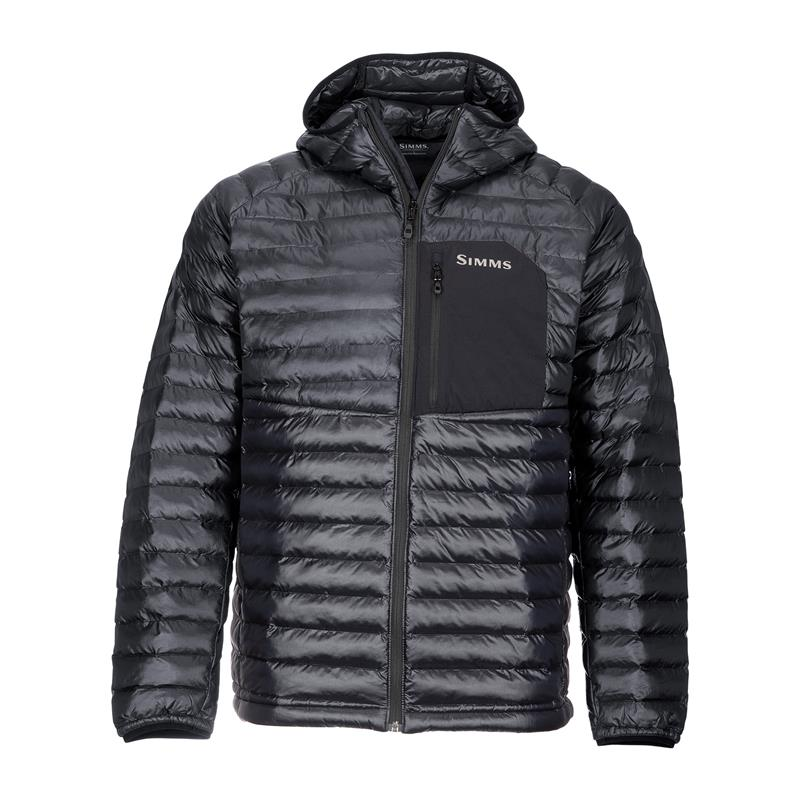 Simms Exstream Hooded Jacket M Black