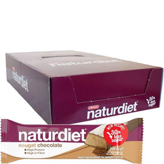 Hel Låda Mealbars Nougat Chocolate 18-pack - 45% rabatt