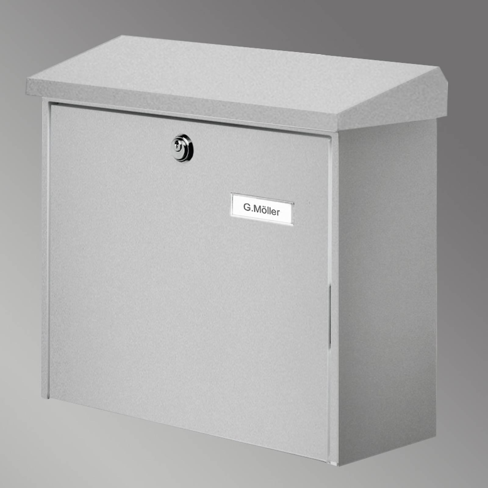COMFORT-postilaatikko, hopea