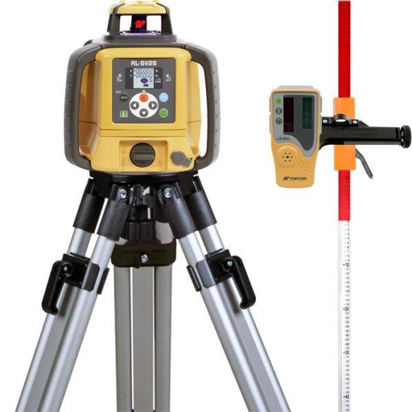 Topcon RL-SV2S Pyörivä laser, paketti