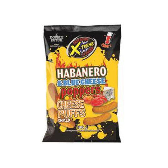 Juustonaksut Habanero & Blue Cheese - 60% alennus