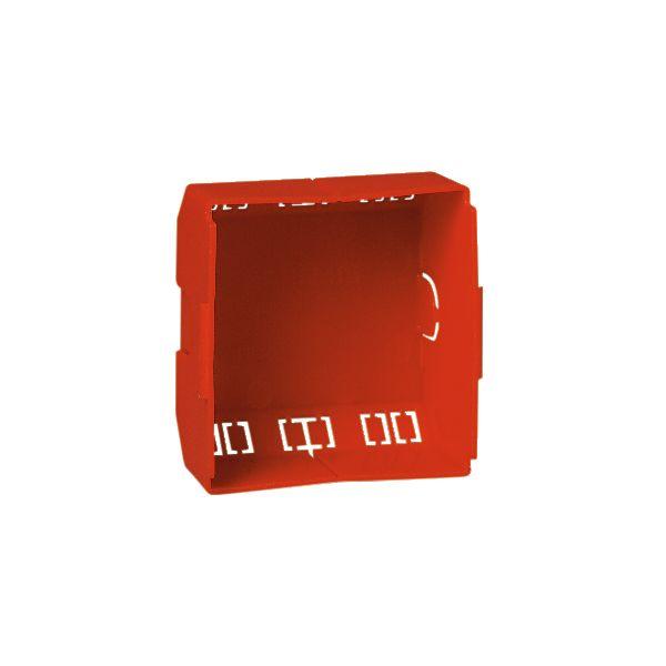 Schneider Electric 5971200 Beskyttelsesdeksel for datakontakter, rød, 10-pakning Høy