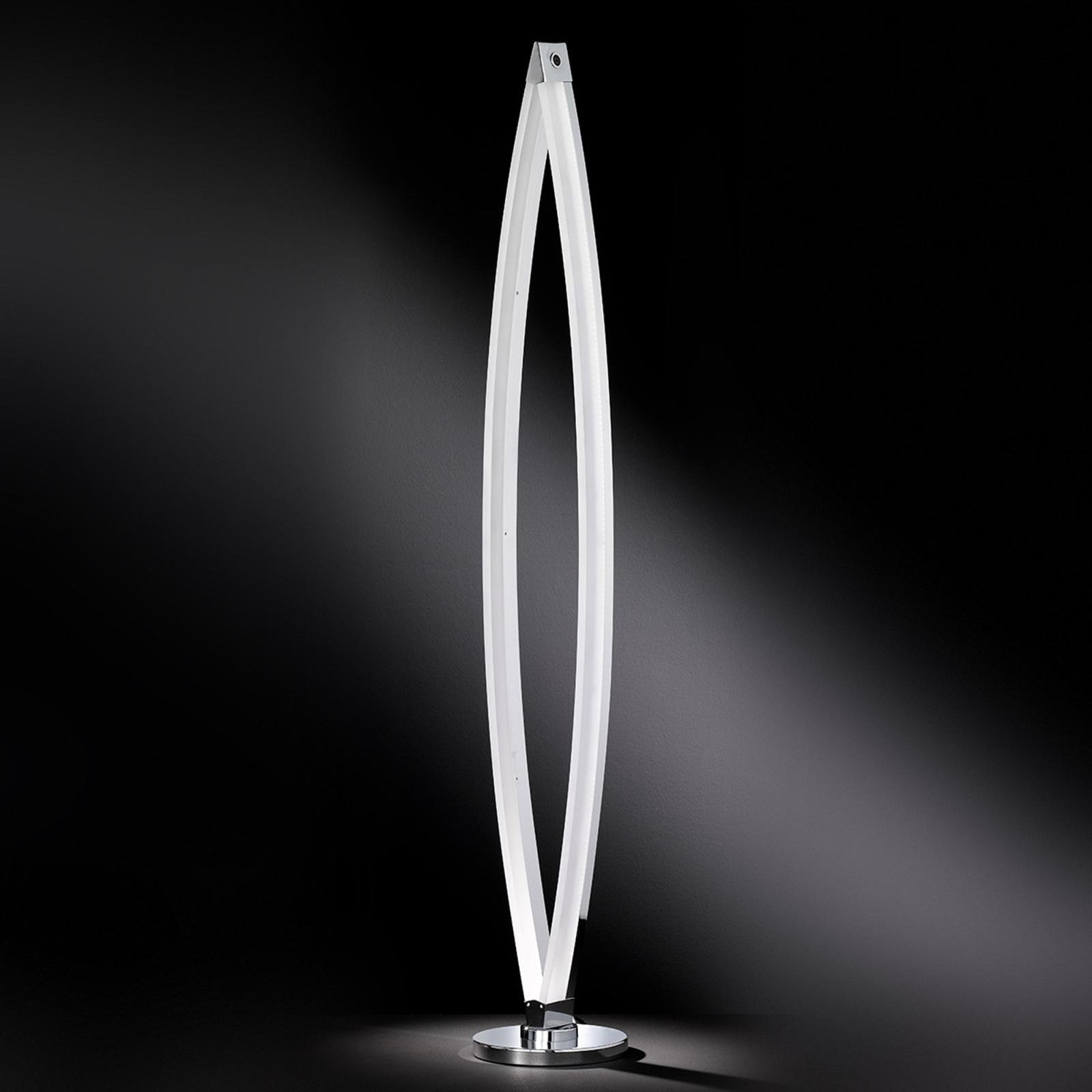 Nykyaikainen LED-lattiavalaisin Vannes