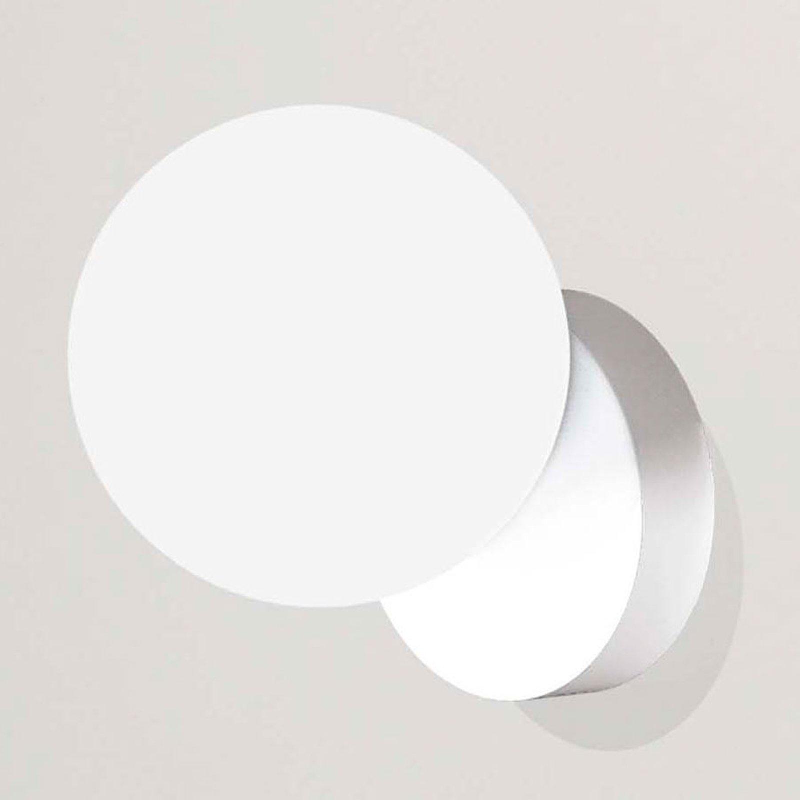 Tin Tin vegglampe 1 lyskilde hvit
