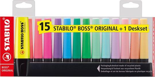 STABILO Overstrykningspenner 15-pack