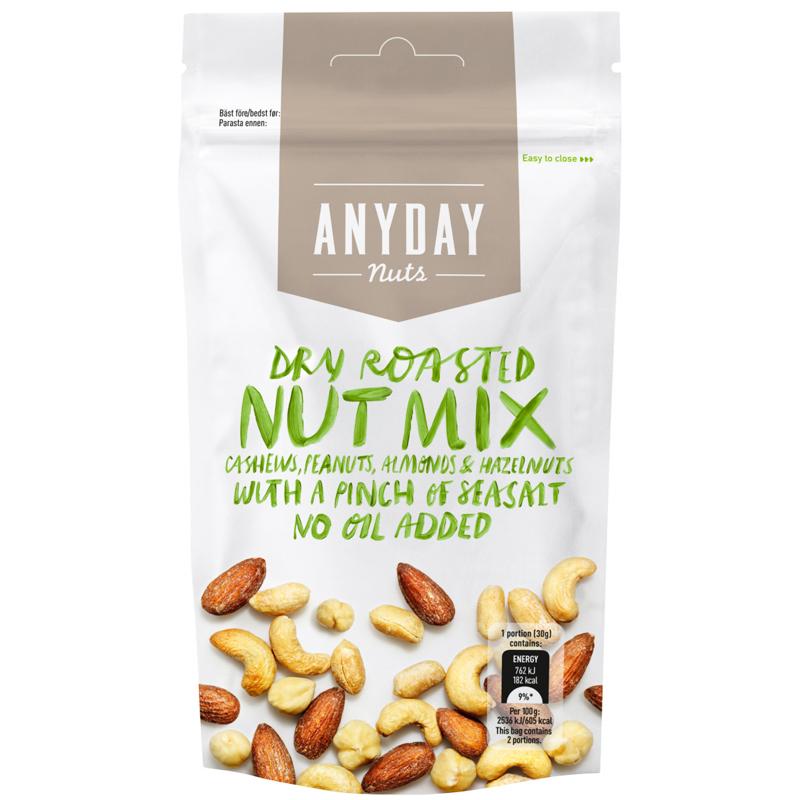 Nötmix Dry Roasted Seasalt - 25% rabatt