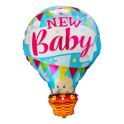 Folieballong New Baby Blå Luftballong