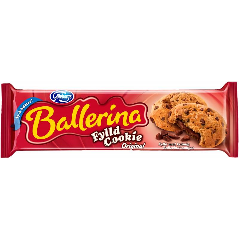 """Kakor """"Fylld Cookie Original"""" 175g - 48% rabatt"""