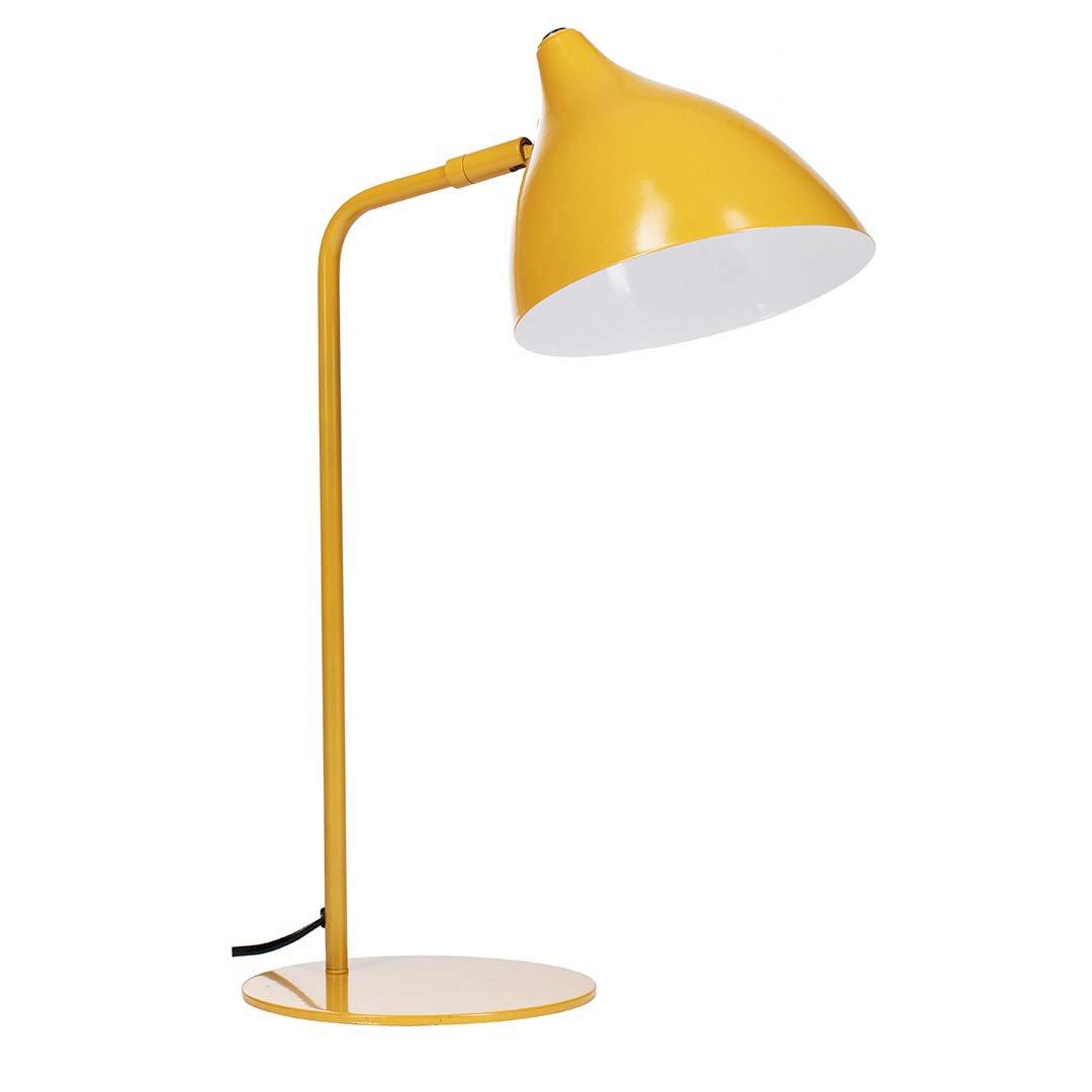 Bordlampe Amsterdam oker