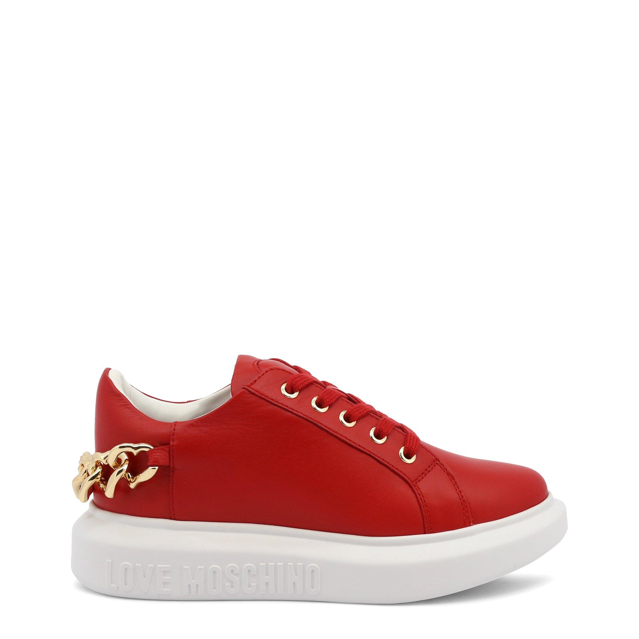 Love Moschino Women's Trainer Various Colours JA15144G1DIA0 - red EU 35