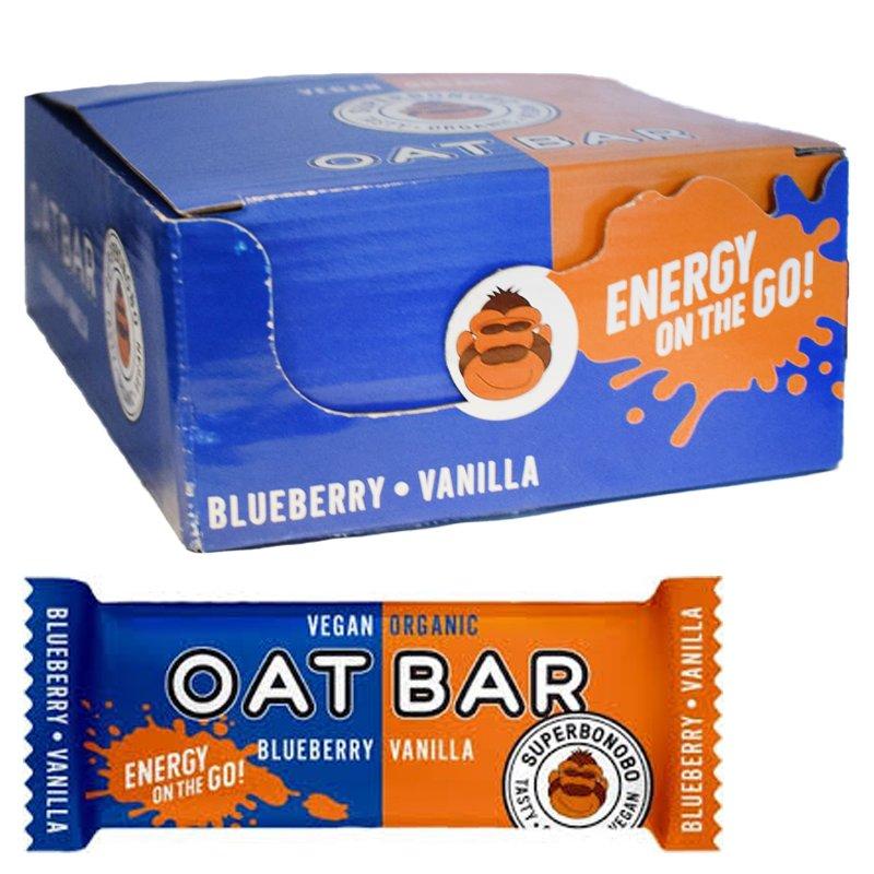 Oatbar Blåbär & Vanilj 20-pack - 38% rabatt