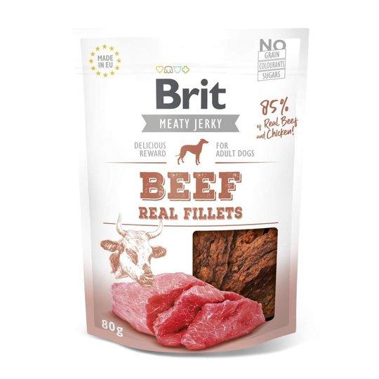 Brit Care Meaty Jerky Beef Fillets (80 g)