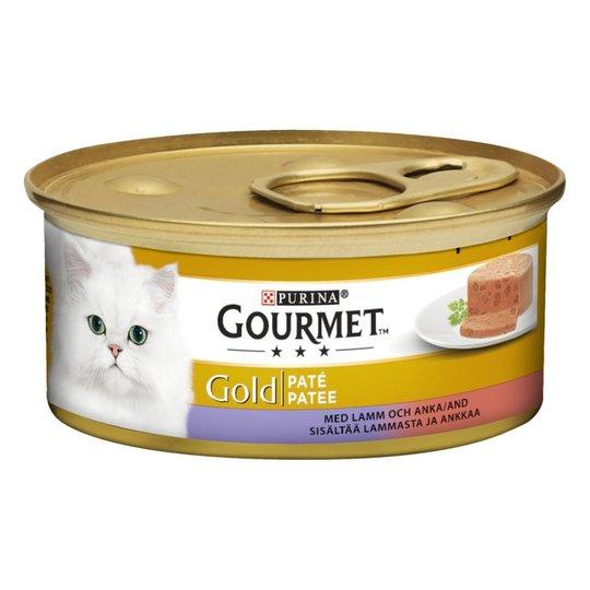 Gourmet Gold Paté Lamm & Anka 12x85 g