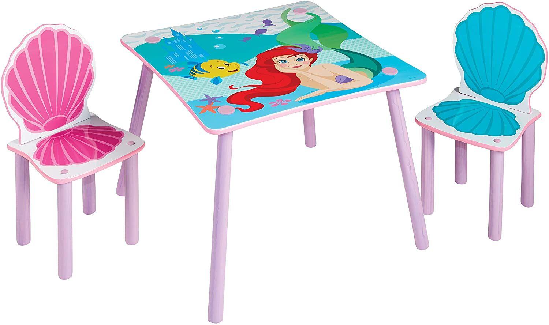 Disney Prinsessat Ariel Pöytä & Tuolit
