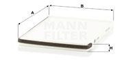 Raitisilmasuodatin MANN-FILTER CU 2630