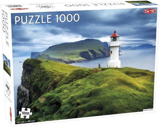 Tactic Puslespill Faroe Islands 1000 brikker