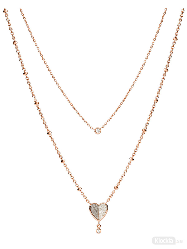 FOSSIL Halsband Vintage Glitz – Rosé JF03648791