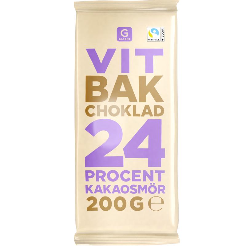 Bakchoklad Vit - 68% rabatt