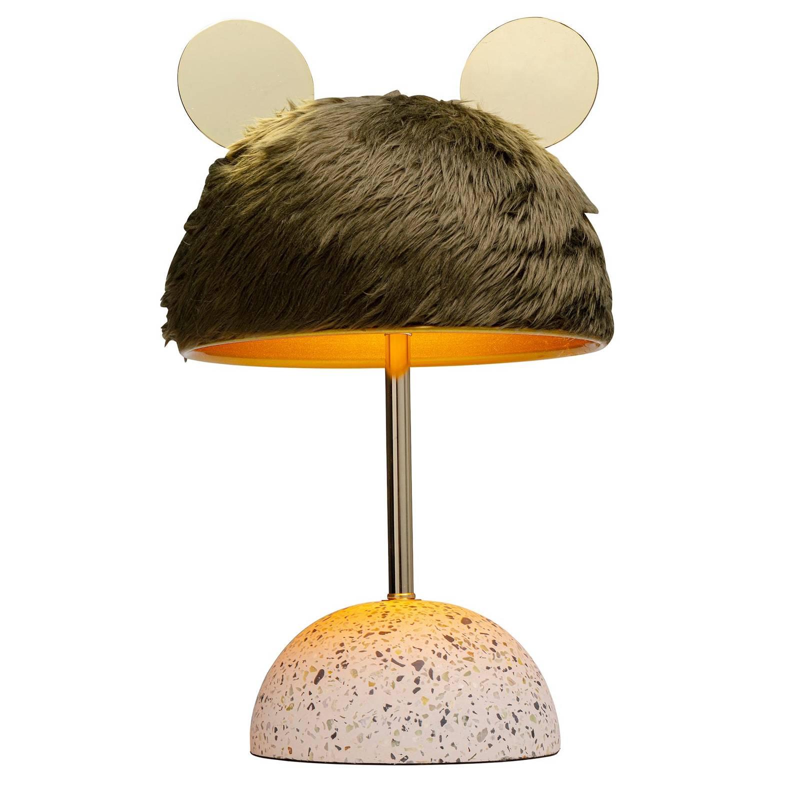KARE Ear -pöytälamppu turkismaisella varjostimella