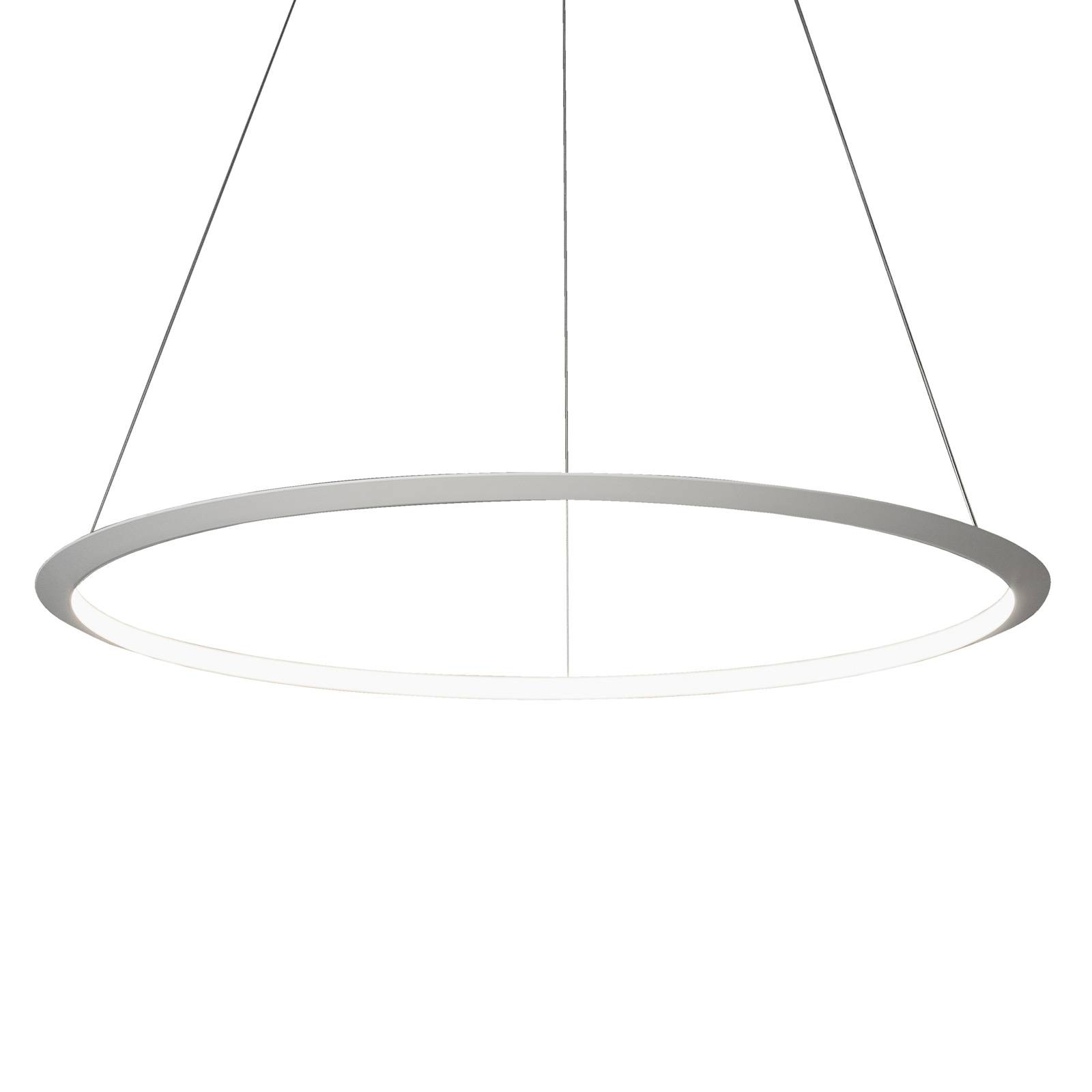 Grok Circular -LED-riippuvalaisin Ø 300cm 940 DALI