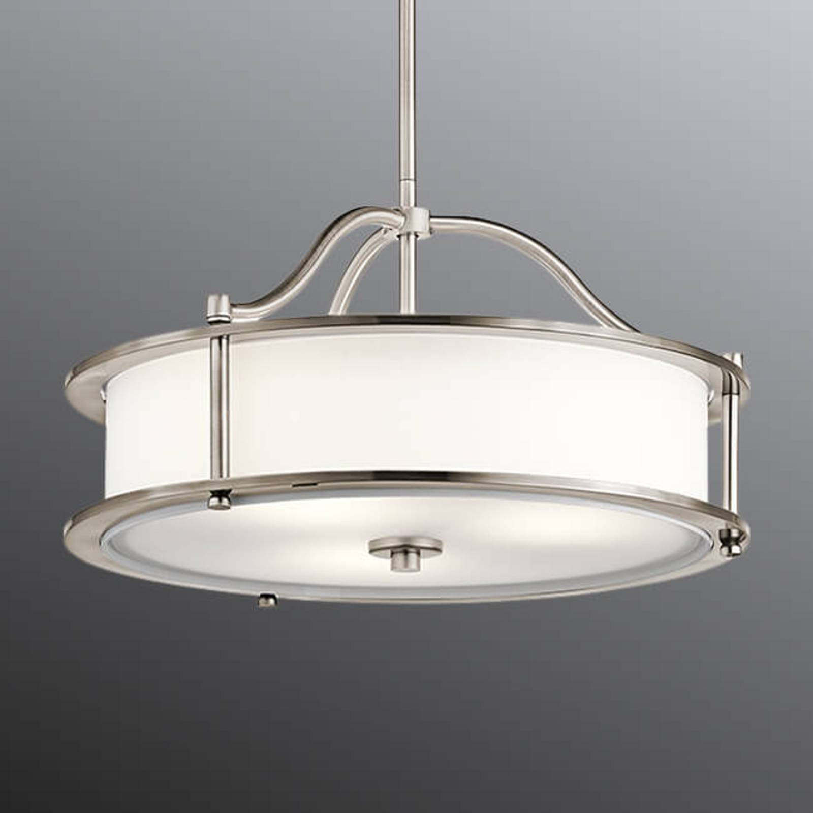 Designet hengelampe Emory, Ø 45,7 cm