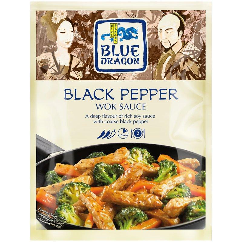 Black Pepper Wok-kastike - 18% alennus