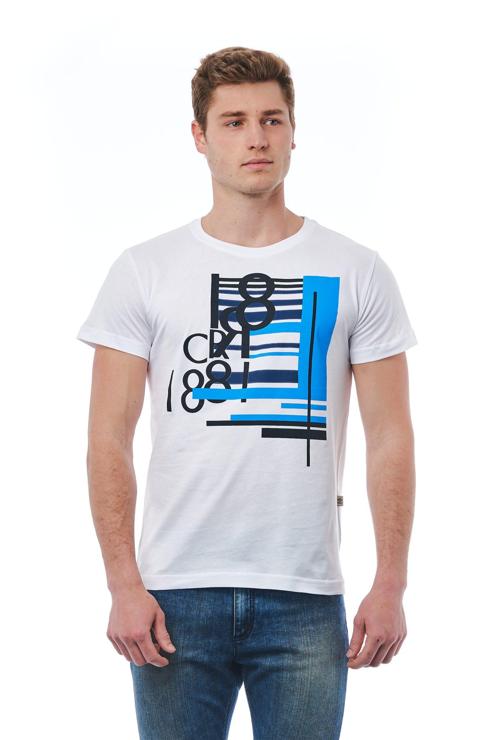Cerruti 1881 Men's Bianco T-Shirt White CE1410100 - M