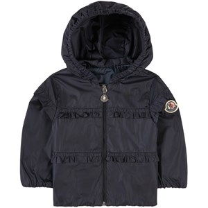 Moncler Hiti Branded Hooded Vindjacka Marinblå 6-9 mån