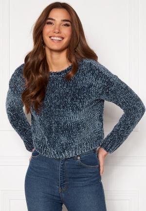 ONLY Shilla L/S Pullover Knit Vintage Indigo M